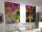 Просвечивающая штора Flower pots for the kitchen 200x120 см ED-98487