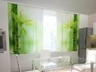 Просвечивающая штора Bamboo leaves 200x120 см ED-98493
