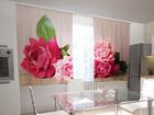 Просвечивающая штора Garden roses 200x120 см ED-98497