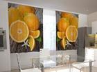 Просвечивающая штора Oranges 200x120 см ED-98513