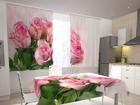 Просвечивающая штора Pink bunch 200x120 см ED-98521