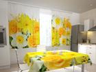 Просвечивающая штора Roses and narcissi 200x120 см ED-98539