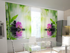 Полузатемняющая штора Orchids and sun in the kitchen 200x120 см ED-98544