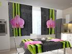 Просвечивающая штора Orchids and bamboo 2, 200x120 см ED-98550