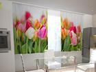 Полузатемняющая штора Tulips in the kitchen 200x120 см ED-98569