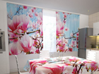 Просвечивающая штора Magnolias 200x120 см ED-98571