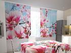 Полузатемняющая штора Magnolias 200x120 см ED-98573