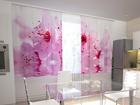 Просвечивающая штора Flowers cherry 200x120 см ED-98591