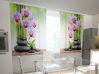 Полузатемняющая штора Orchids and stones in the kitchen 200x120 см ED-98596