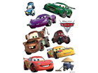 Настенная наклейка Disney Cars 2 McQueen and Mater 42,5x65 cm ED-98666