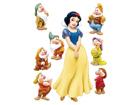 Настенная наклейка Disney Snow White 42,5x65 cm ED-98671