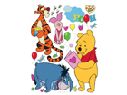 Настенная наклейка Disney Winnie the Pooh and friends 42,5x65 cm ED-98676