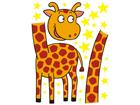 Настенная наклейка Giraffe 2, 65x85 cm ED-98723
