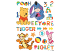 Настенная наклейка Disney Winnie the Pooh and friends 65x85 cm ED-98725