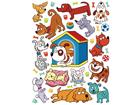 Настенная наклейка Pets 65x85 cm ED-98729