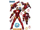 Настенная наклейка Avengers Iron Man 65x85 см ED-98746