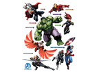 Настенная наклейка Avengers 3, 65x85 см ED-98779