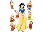 Настенная наклейка Disney Snow White 65x85 см ED-98822