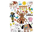 Настенная наклейка Farm 65x85 см ED-98901