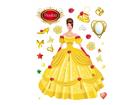 Настенная наклейка Princess in yellow 65x85 см ED-98906