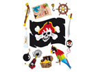 Настенная наклейка Pirate 65x85 см ED-98908