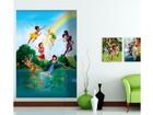 Флизелиновые фотообои Disney fairies in the rainbow 180x202 cm ED-99087