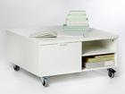 Журнальный стол на колёсах 80x80 cm AY-99478