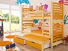 3-местная двухъярусная кровать 75x180 cm TF-99675
