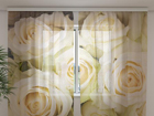 Шифоновая фотоштора Champagne roses 240x220 cm ED-99929