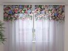 Просвечивающая штора Flower Lambrequins Fantasy 240x220 см ED-99948