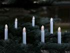 LED свечи на елку с таймером 16 шт AA-99955