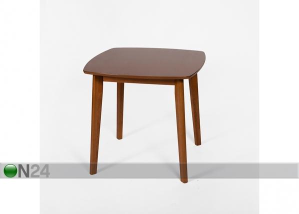 Обеденный стол Novara 80x80 cm, орех GO-102928