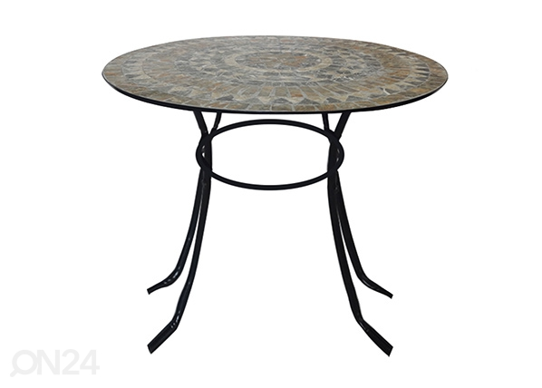 Садовый стол Mosaic Ø 90 cm EV-107385