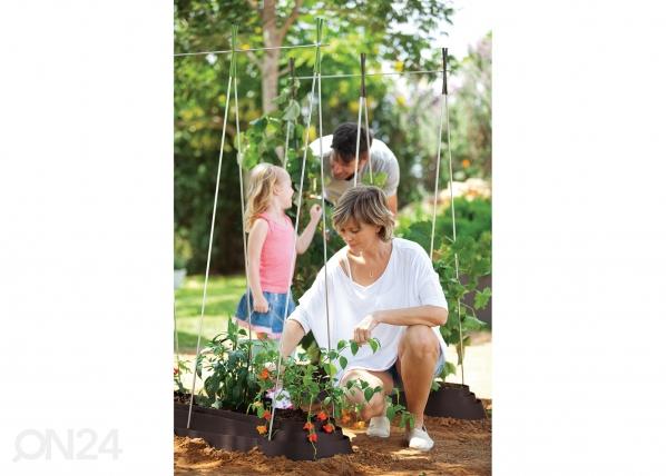 Садовая грядка Keter G-Row 125x37 cm, коричневый TE-109075