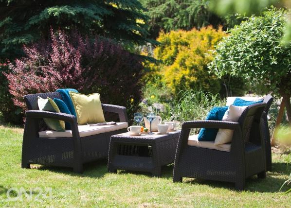 Комплект садовой мебели Corfu, коричневый TE-109154