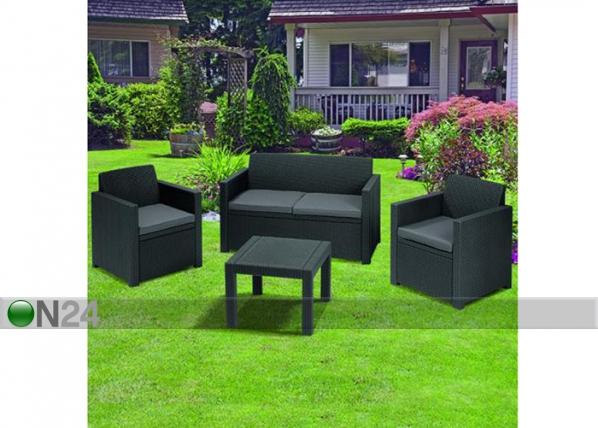 Комплект садовой мебели Keter Alabama, graphite TE-109190