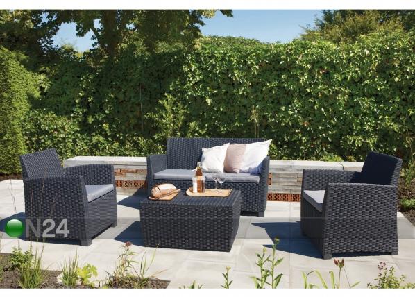 Комплект садовои мебели Corona, graphit TE-109199