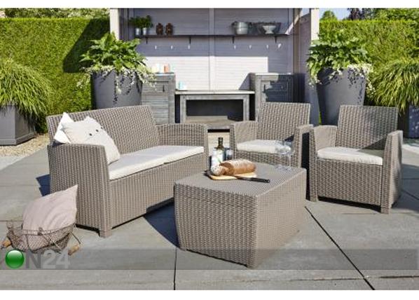 Комплект садовой мебели Corona, cappuccino TE-109202