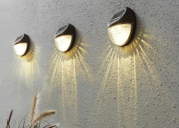 Светильникв сад с солнечной панелью 3 шт AA-109544