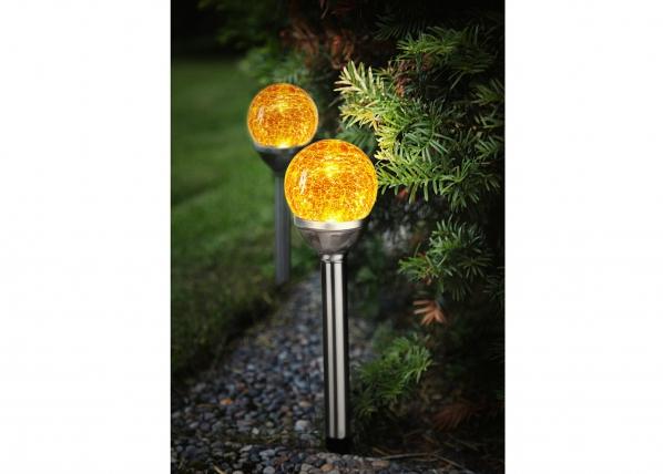 Светильник в садс солнечной панелью 2 шт AA-109564