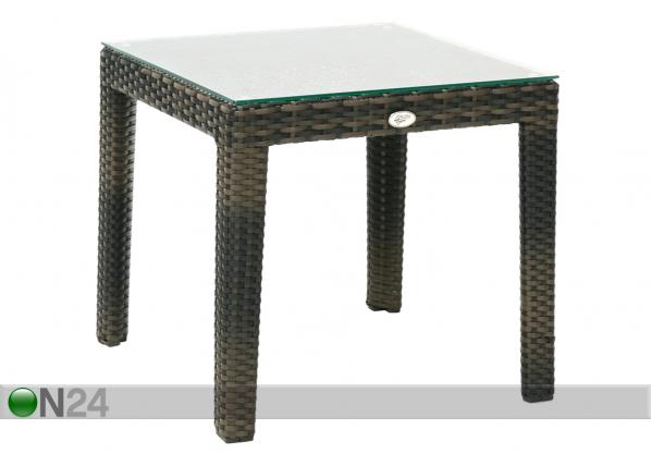 Садовый столик Wicker 50x50 cm EV-110222