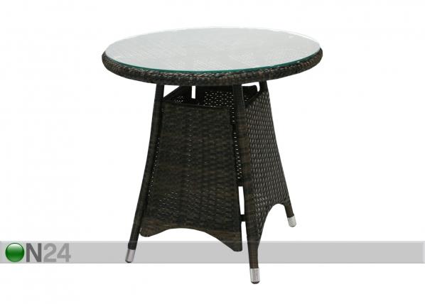 Садовый стол Wicker Ø 60 cm EV-110238