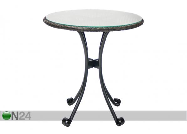 Садовый стол Wicker Ø 70 cm EV-110241