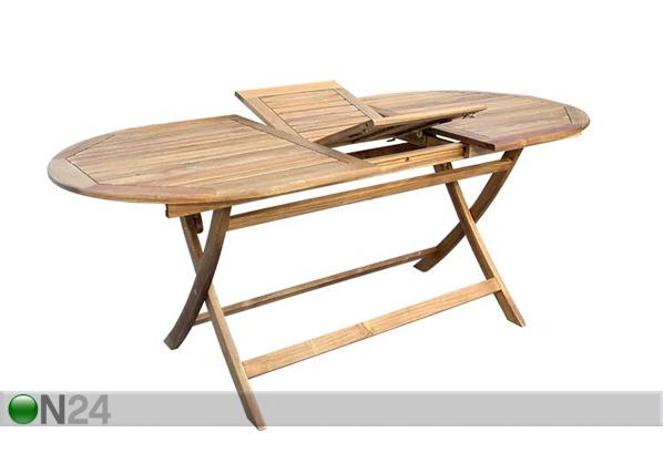 Удлиняющийся садовый стол Toledo 85x140-180 cm SI-112298