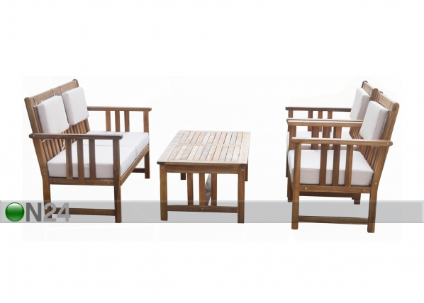 Комплект садовой мебели Monopello, бежевый SI-112825