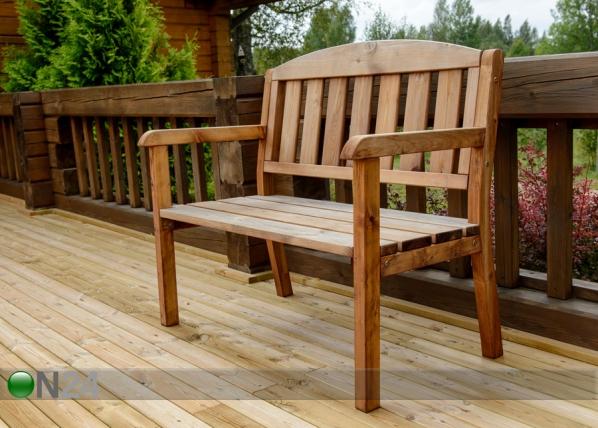 Двухместная садовая скамейка TN-118438