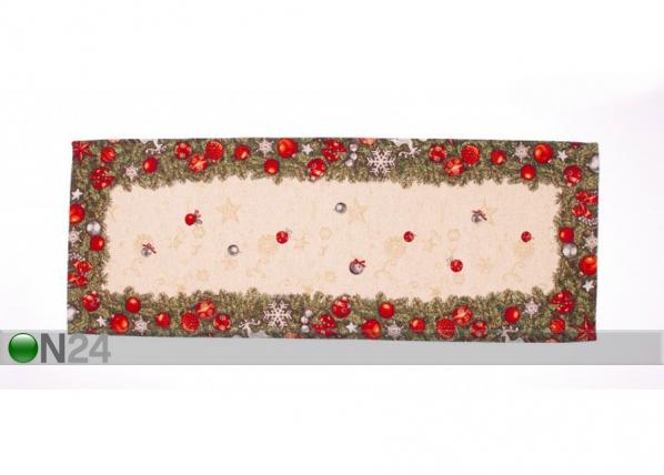 Рождественская салфетка из гобелена Spruce 37x95 cm TG-123464