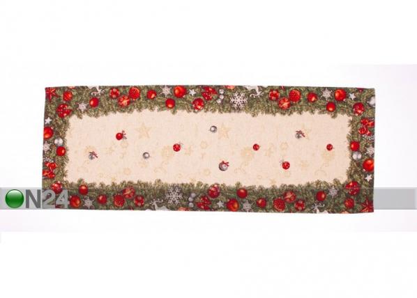 Рождественская салфетка из гобелена Spruce 44x133 cm TG-123466