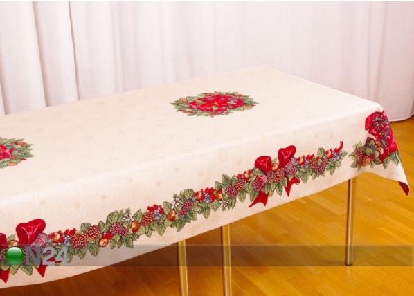 Рождественская скатерть из гобелена Zola 140x260 cm TG-123469