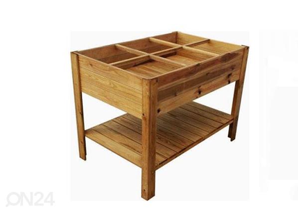 Ящик для растений на ножках 80x120 см, 6 секторов TN-125356